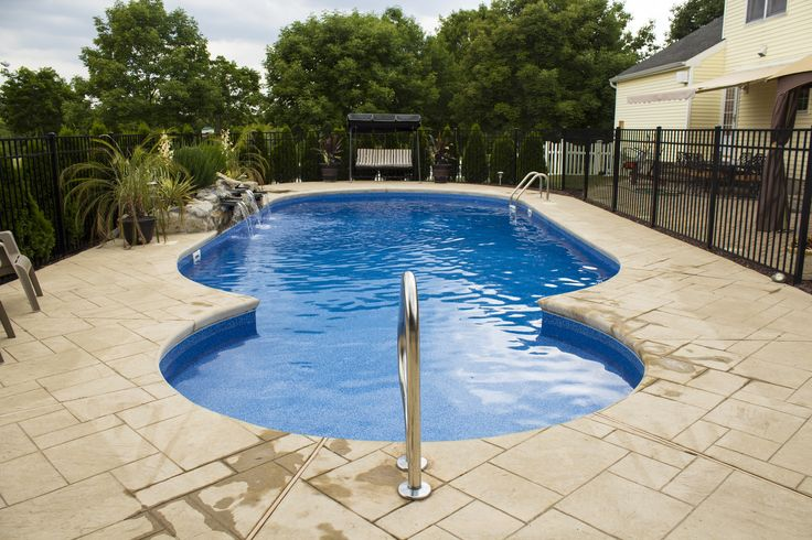 64 Best Inground Vinyl Pools Images On Pinterest Pools