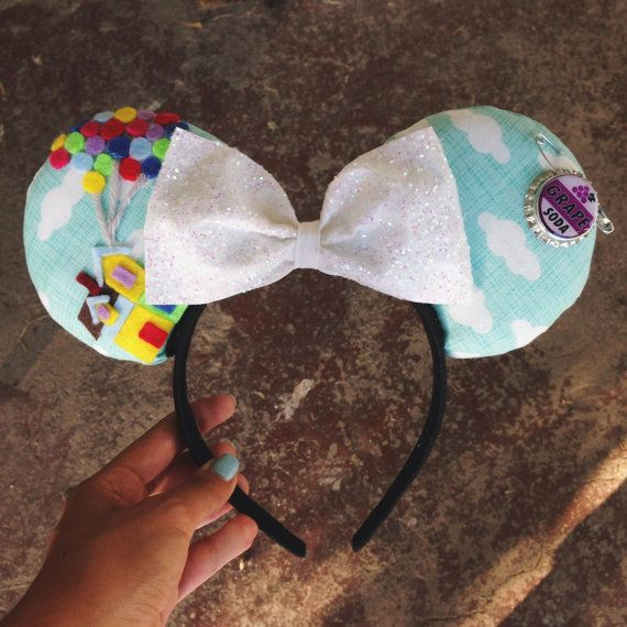 Hey, I found this really awesome Etsy listing at https://www.etsy.com/listing/202340529/up-mickey-ears-minnie-ears-pixar