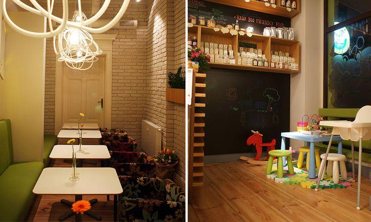 Nasza aranżacja wnętrza restauracji Friendly Food w Poznaniu