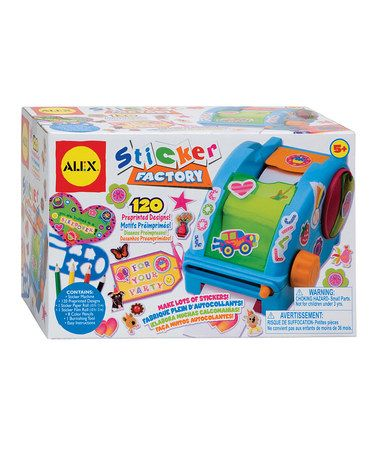 Take a look at this Sticker Factory Kit by ALEX on #zulily today!