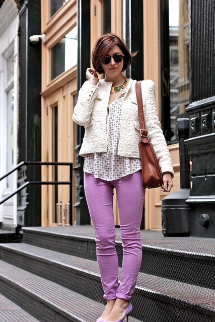 Lavender jeans by my style pill