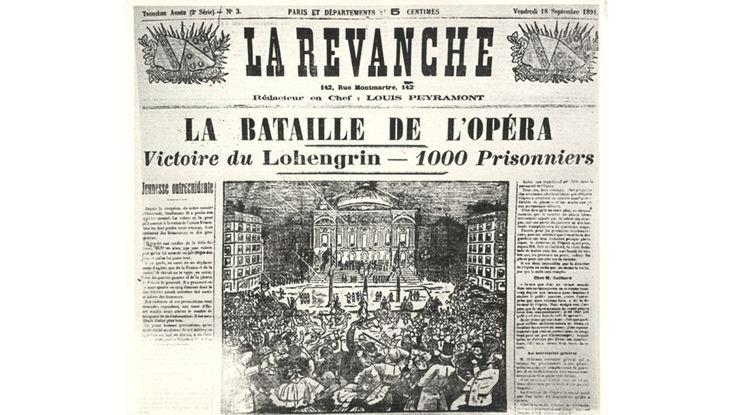 Wagner and the Paris Opera in ten landmark events - Opéra national de Paris