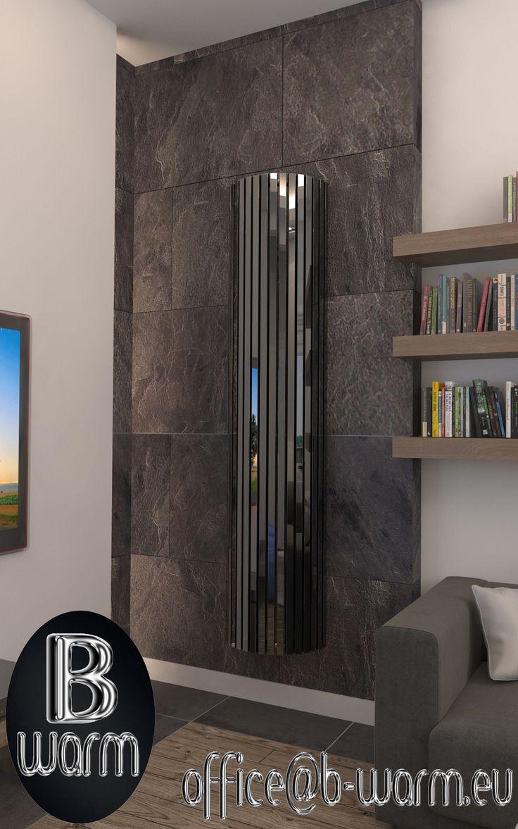 Grzejnik Pillar Black, z oferty firmy  B-WARM, niczym dzieło artysty, dopasowuje się do wnętrza, sprawiając wrażenie jednocześnie filigranowego i mocnego. Kontakt: office@b-warm.eu