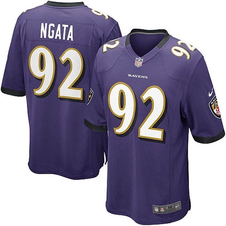 Haloti Ngata Baltimore Ravens Nike Game Jersey - Purple - $54.99