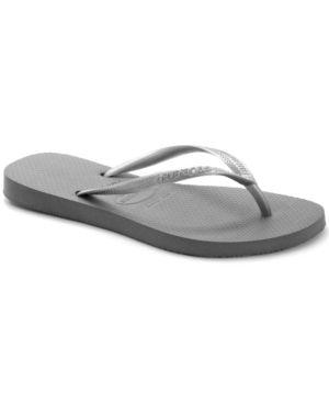 Havaianas Women's Slim Metallic Flip Flops -