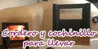 Asador Cristóbal. Corderos y cochinillos. 40€ precio medio carta.