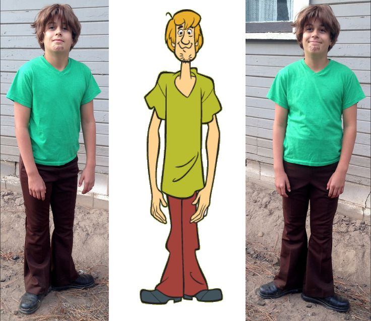the diy shaggy costume i made for my brother we all dressed up as characters funny costumeshomecoming ideasbook - Funny Character Halloween Costumes