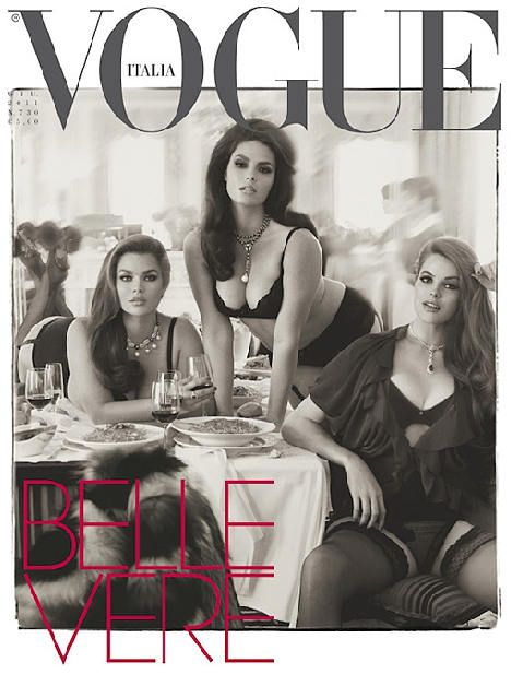 Tara Lynn und Candice Vogue Italia
