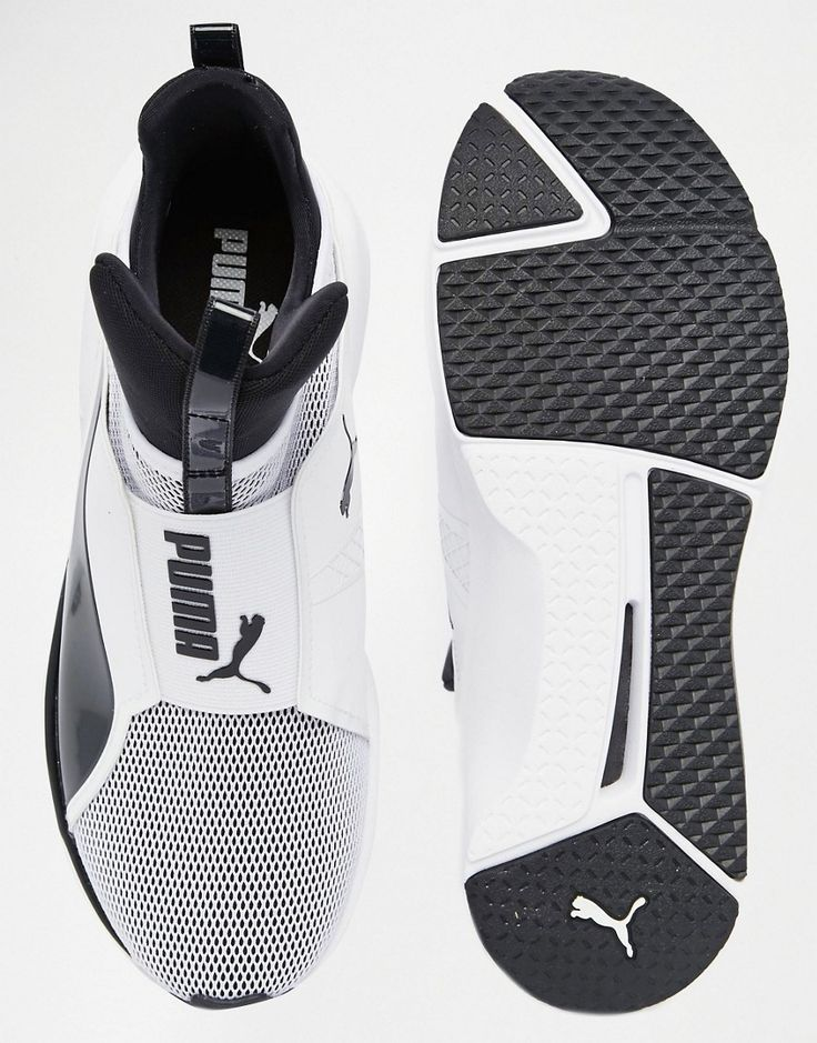 Image 3 of Puma Fierce Core Trainers In White