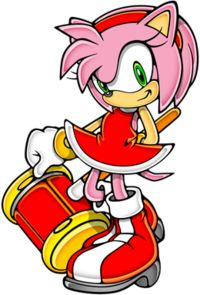 Amy Rose with hammer.png