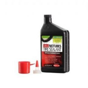 Stans No Tubes Stans Notubes The Solution Tyre Sealant quart Will stop slow leaks and punctures. This Solution converts standard (non tubeless) tires to tubeless. Also works with any tubeless tire or tubular tires. When properly used it will seal up to 1/4 inch http://www.MightGet.com/february-2017-1/stans-no-tubes-stans-notubes-the-solution-tyre-sealant-quart.asp