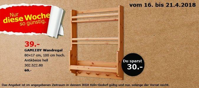 WandregalSchnäppchen IkeaKüche Gamleby Und Haushalt Ikea WDeE2HYb9I