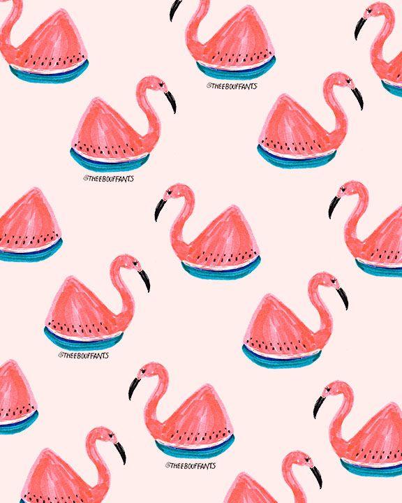 Flamingo Watermelon.