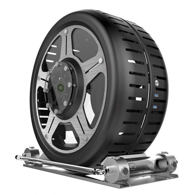 Bonne nouvelle, le boitier Gamemax en forme de roue s'offre un pneu