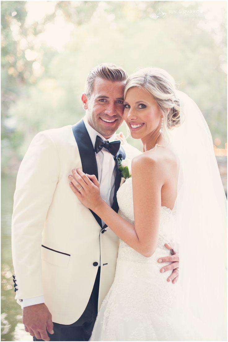 White shirt ivory wedding dress