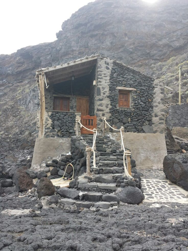 Casa en el Pozo de las Calcosas, El Hierro, Islas Canarias, Canary Island.