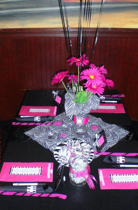 Pink Zebra Baby Shower | A to Zebra Celebrations