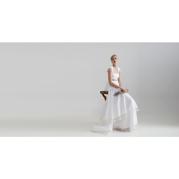 White Collection | Bridal Dresses By Ioanna Kourbela found on Polyvore
