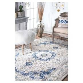The nuLOOM Machine Made Verona Rug is an ornate rug with a contemporary twist. The pattern is inspired by traditional Central Asian textiles, but the muted, tonal color scheme and intentionally faded look make this a versatile area rug with a contemporary feel. nuLoom rugs are made for those of us who go gaga for good design. Rather than replicate traditional rugs (because who wants a knock-off?), nuLoom rug designers take inspiration from nature, architecture and traditional textiles from…