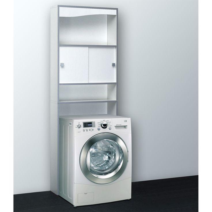 armoire salle de bain meuble de rangement buanderietoilette blanc meuble de rangement buanderie