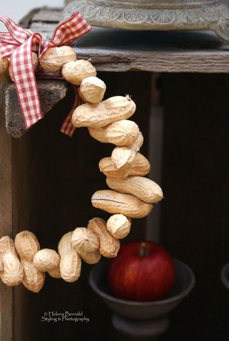 White apron poundland - Monkey Nuts Wreath Poundland Sells The Nuts So To Speak