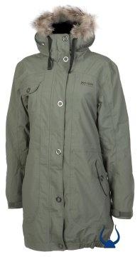 Zo-On Ladies Vera Ladies Coat Army Green
