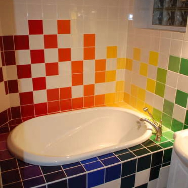 So What Happens When You Combine The Desires Of An Artist And A Mad Engineer Into A Single Bathroom Renovation In This Case A Soaker Tub Surrounded
