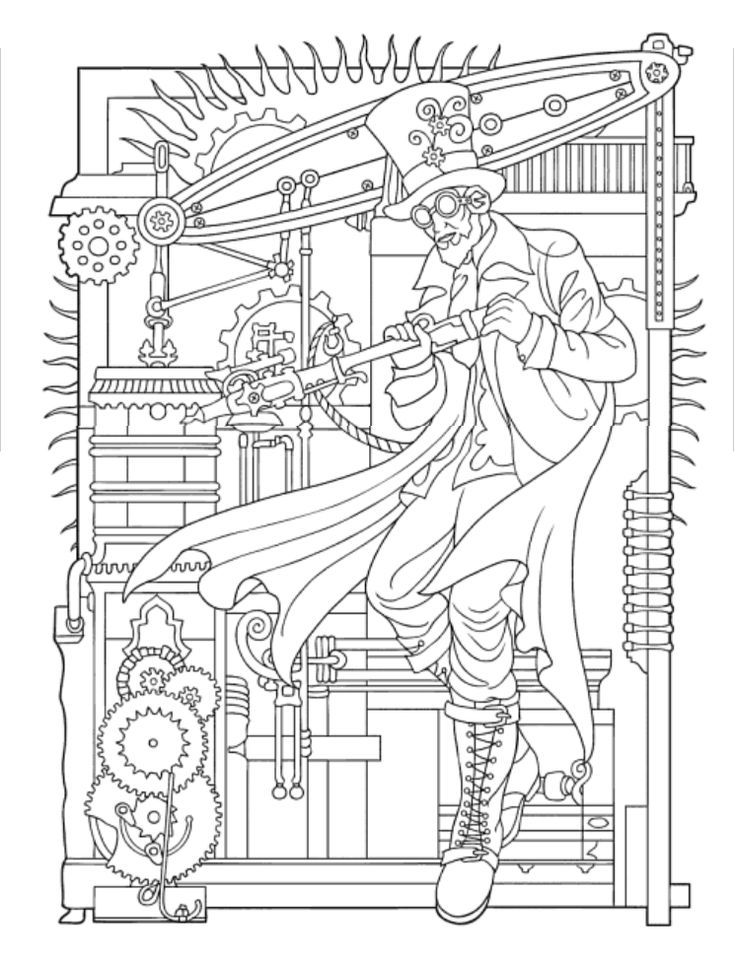 Johanna Basford Coloring Pages Colored Coloring Pages