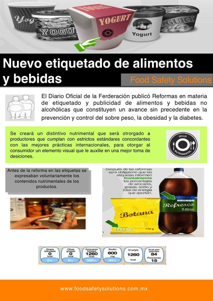 nueva ley de etiquetado de alimentos en México