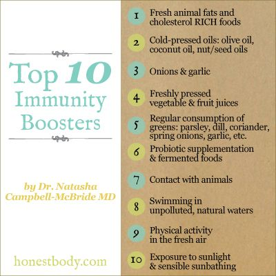 how to make your immune system good