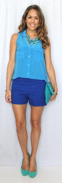 Top 25  best Blue shorts outfit ideas on Pinterest | Summer shorts ...