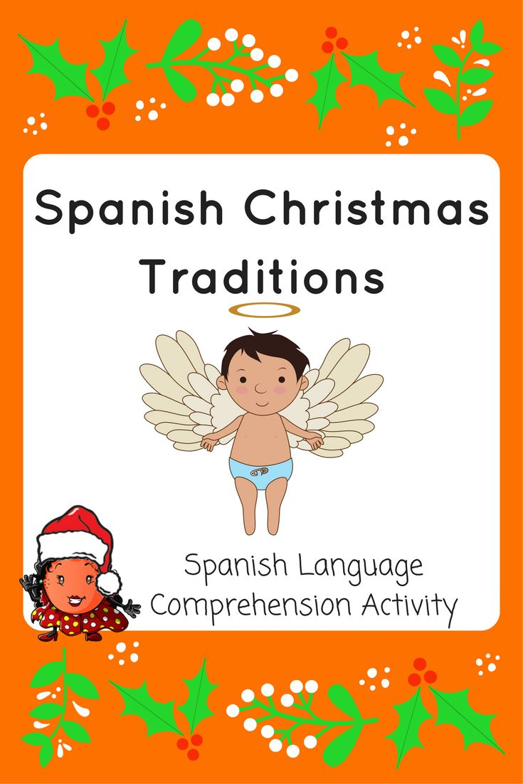 Download our free printable Spanish Christmas Traditions comprehension exercise to give to your students or read out loud to them and answer the questions.