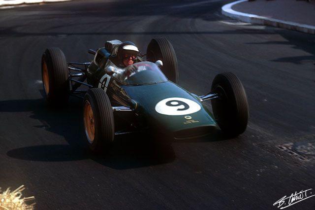 Clark 1963 Monaco - Lotus 25 -