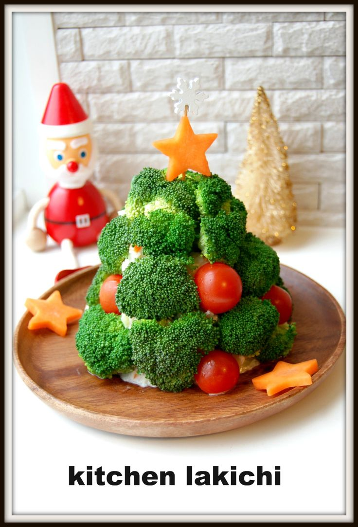 ★クリスマスツリーのポテトサラダ【レシピ】★ の画像|☆kitchen lakichi☆~野菜ソムリエKanaのToday's Recipe&食べ歩き♪~