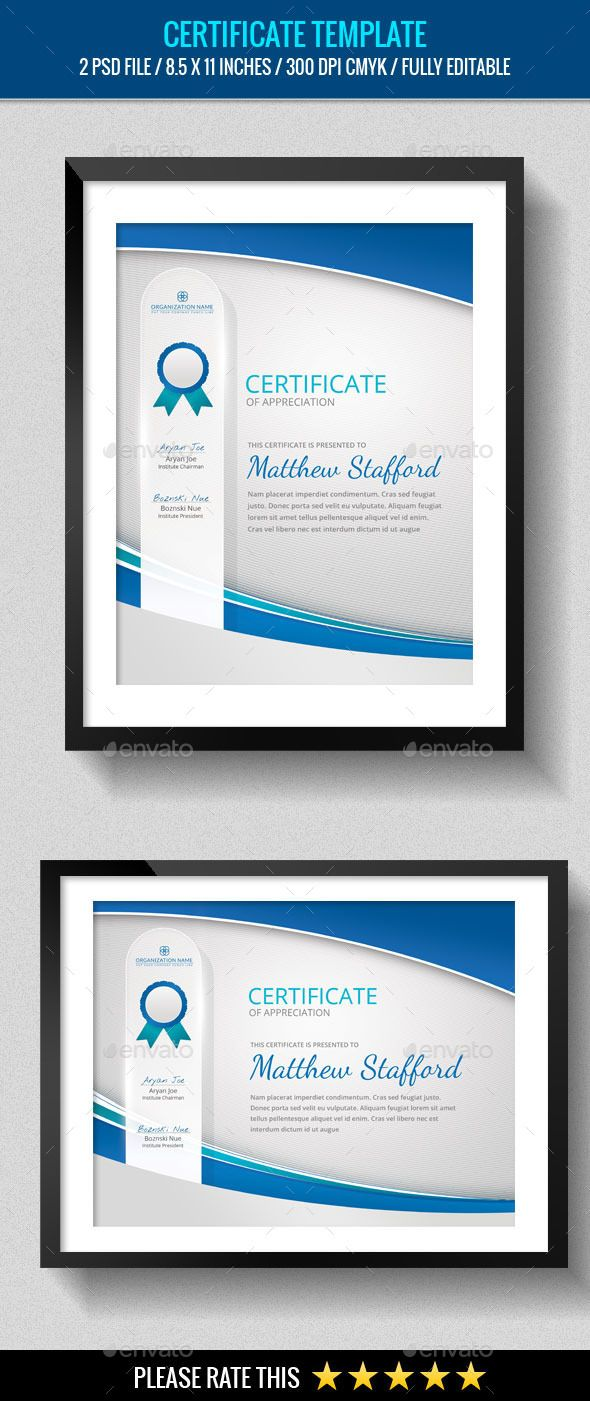 Multipurpose Certificates Template PSD. Download here: http://graphicriver.net/item/multipurpose-certificates-template/13230693?ref=ksioks