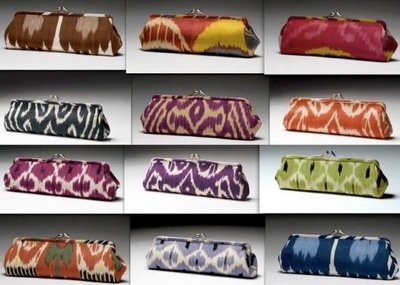 Ikat Clutches