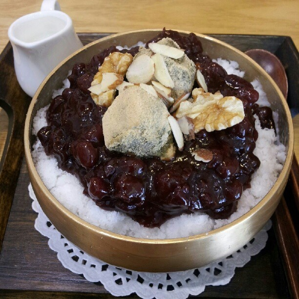 Patbingsu #iceflakes #bingsu #patbingsu #koreanfood #webstagram #wishtrend - @WISHTREND- #webstagram