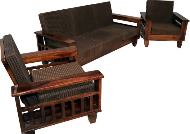 Awesome Sagwan Lakdi Sofa Design | Sofa Design, Wooden Sofa Designs, Wooden Sofa Set Designs