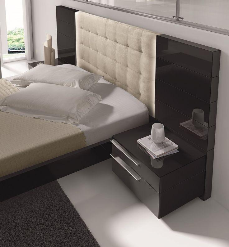 Black nightstand design for the modern bedroom   www.bocadolobo.com #bocadolobo #luxuryfurniture #exclusivedesign #interiodesign #designideas #bedroomdesign #bedroomideas #nightstandsideas #bedsidetables
