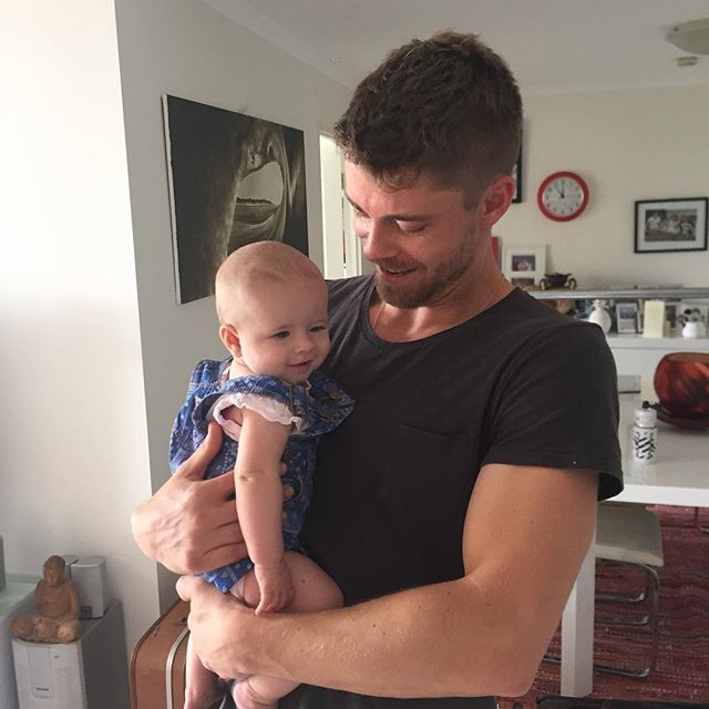 Luke Mitchell: Just sharing dribbling stories. ☔️#ProudUncle
