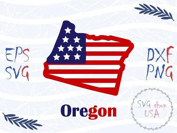 Oregon Vector, OR Clip Art, Oregon SVG Bundle, State Clipart, State ...