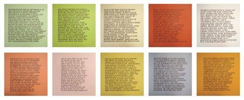 Inflammatory Essays I by Jenny Holzer