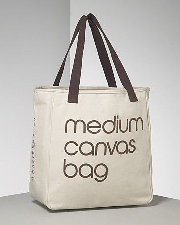 Bloomingdale\u0026#39;s Medium Recycled Cotton Canvas Tote Bag ...
