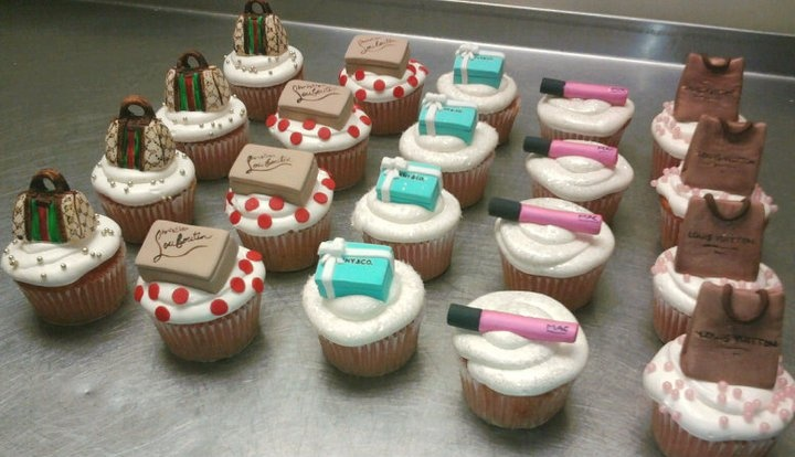 Diva Cupcakes Gucci Louis Vittion Tiffany