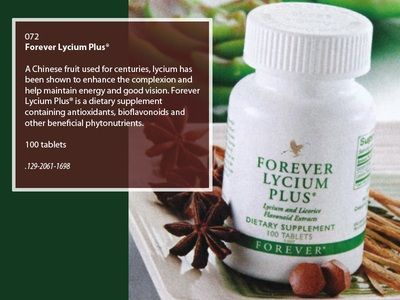 forever lycium plus benefits - Google Search