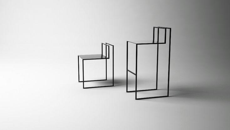 Gentle Hint Chairs par Nissa Kinzhalina #design #furniture #chair