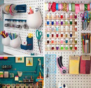 ¿Cómo tienes organizadas tus cosas de costura? Inspírate con estas imágenes