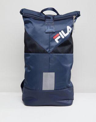 Fila Salter Backpack In Navy