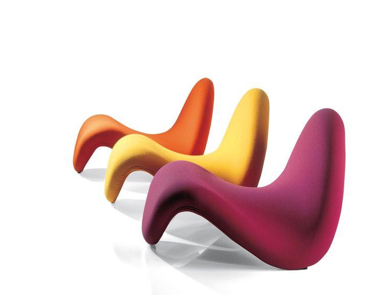 Silla Tongue (1967) Pierre Paulin