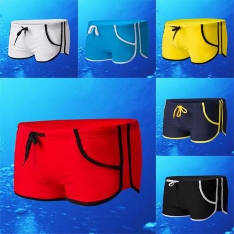Men's Summer Cool Swim Trunks Boardshorts Swimwear Boxer Pants Size L XL XXL
